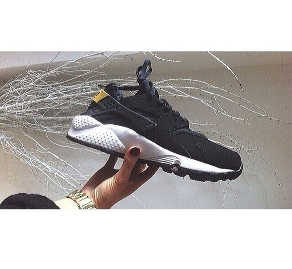 shoes huarache huarache black trainers nike