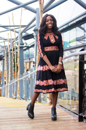 i want you to know,blogger,dress,shoes,jewels,ethnic,ethnic dress