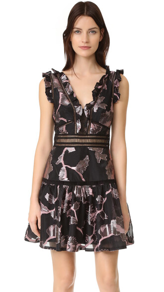 dress v neck dress sleeveless metallic v neck black
