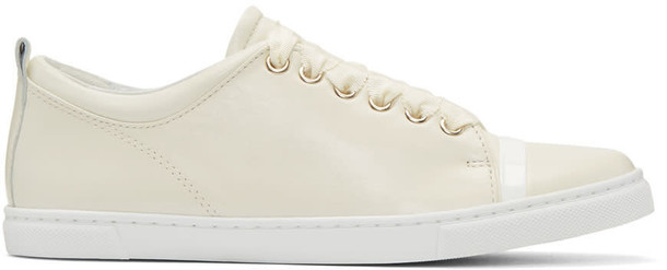 lanvin sneakers leather shoes