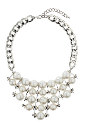 Pearl Statement Necklace - Jewellery  - Bags & Accessories  - Topshop