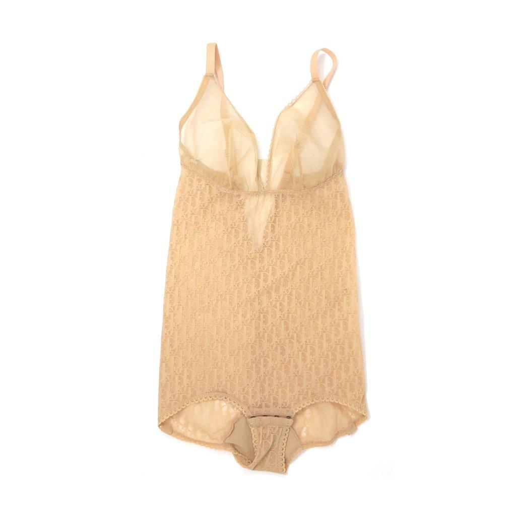 Dior Beige Sheer Bodysuit - 34C