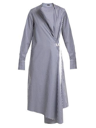 dress cotton blue