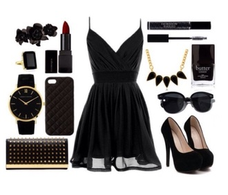dress black dress little black dress black sheer dress
