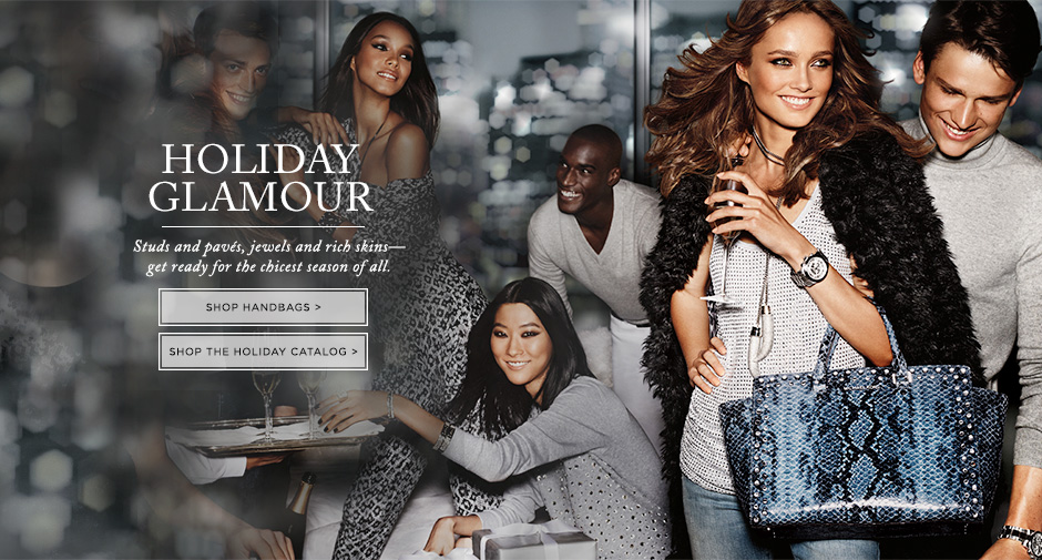Shop Michael Kors Outlet for jet set luxury - designer handbags, watches, jewelry, shoes, women's and men's clothing and more. Plus view new markdowns - Michael Kors Canada.