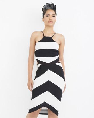 dress black and white black and white dress stripes striped dress