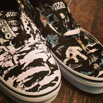 shoes stars wars vans