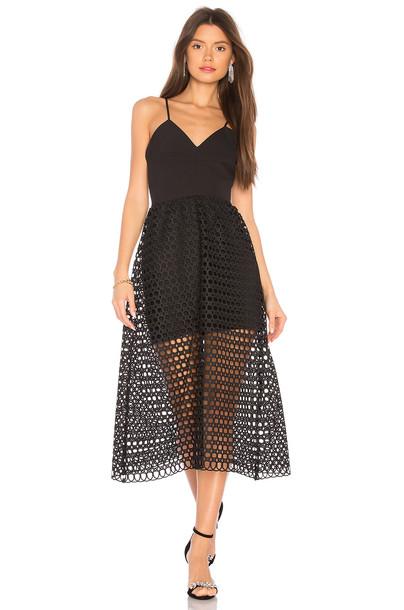 karina grimaldi dress black