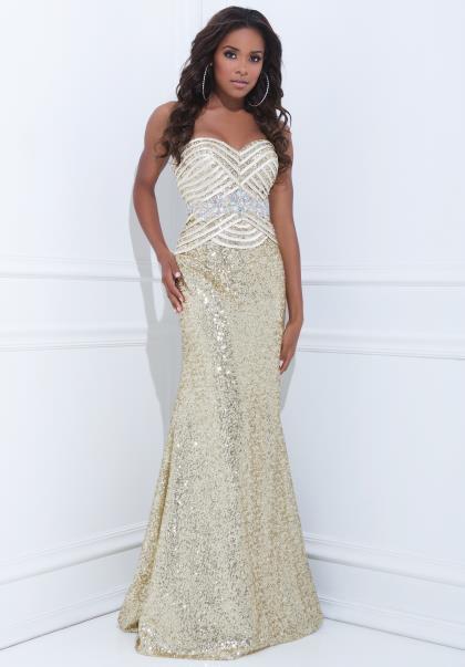 Tony Bowls Le Gala Dress 114509 at Peaches Boutique