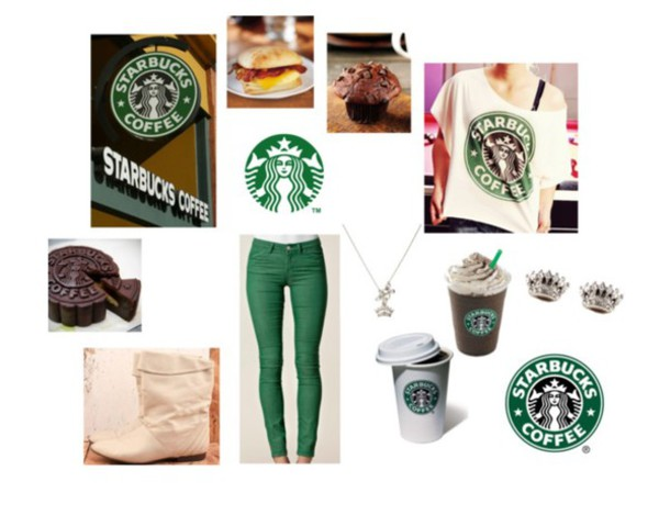 shirt starbucks coffee jeans