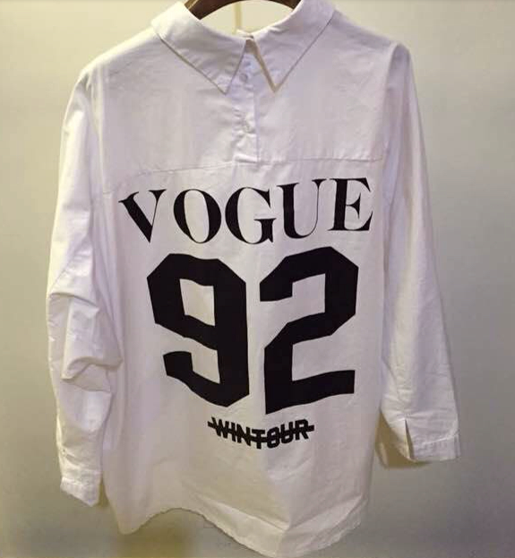 The vogue 92 blouse