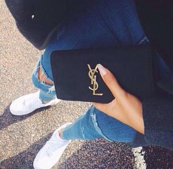 bag wallet shoes