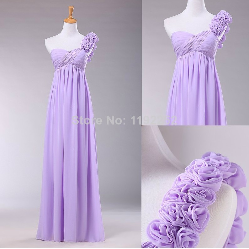 Aliexpress.com : Buy Custom Made Bridesmaid Dresses Sexy One Shoulder Ankle Length A line Bridal Gown Evening Dresses Maxi Dresses With Chiffon from Reliable dress ball gown suppliers on readdress