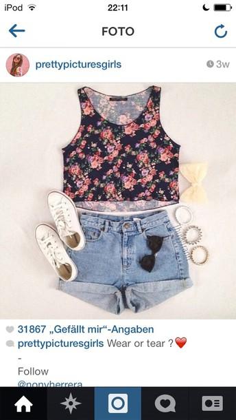 shirt floral love more iwantthissobad