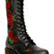 Vonda embroidered 14 eye boots