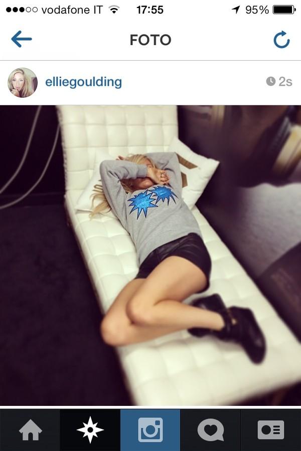 shorts elliegoulding instagram shoes