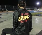 jacket,black,black jacket,coaches jacket,alternative,bomber jacket,ulzzang