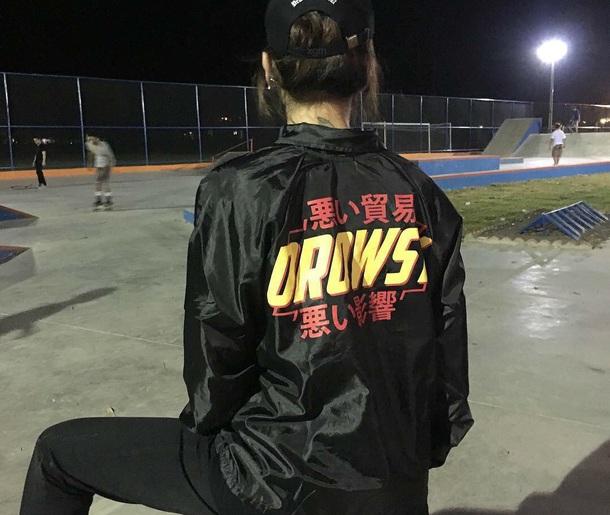 jacket black black jacket coaches jacket alternative bomber jacket ulzzang