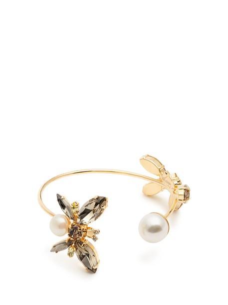 Erdem cuff embellished jewels