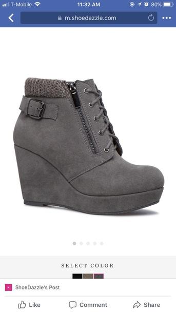 shoes black wedge booties