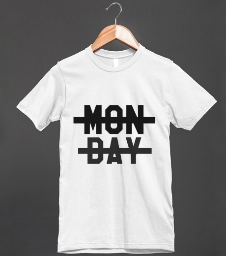 Niall Horan Monday Tee | Fitted T-shirt | Skreened