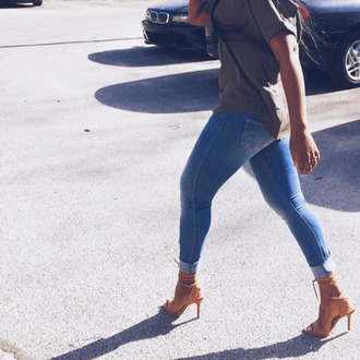 jeans mid rse blue jeans