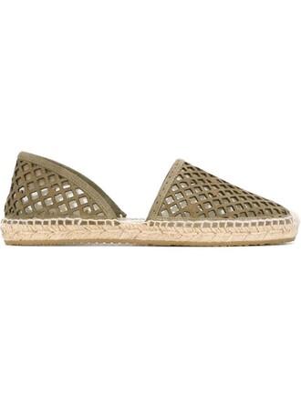 espadrilles green shoes