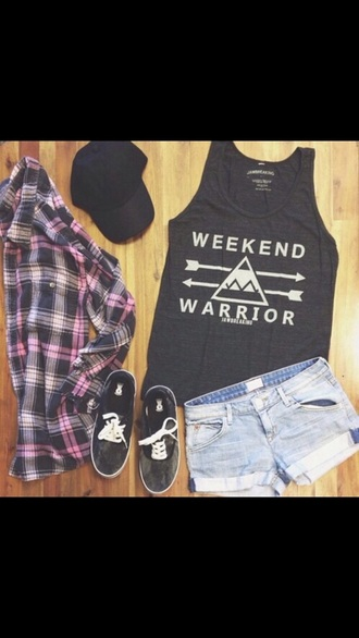 shirt tumblr hipster trendy style fashion love fashionista shorts hat shoes trainers t-shirt top outfit tumblr outfit