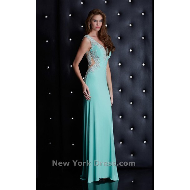 dress charming design a line prom gowns