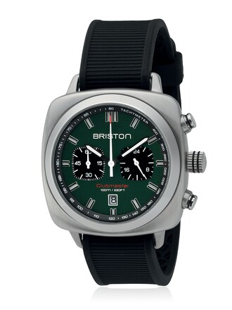 watch black green jewels