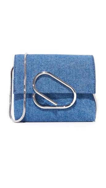 3.1 Phillip Lim Alix Micro Cross Body Bag - Washed Indigo