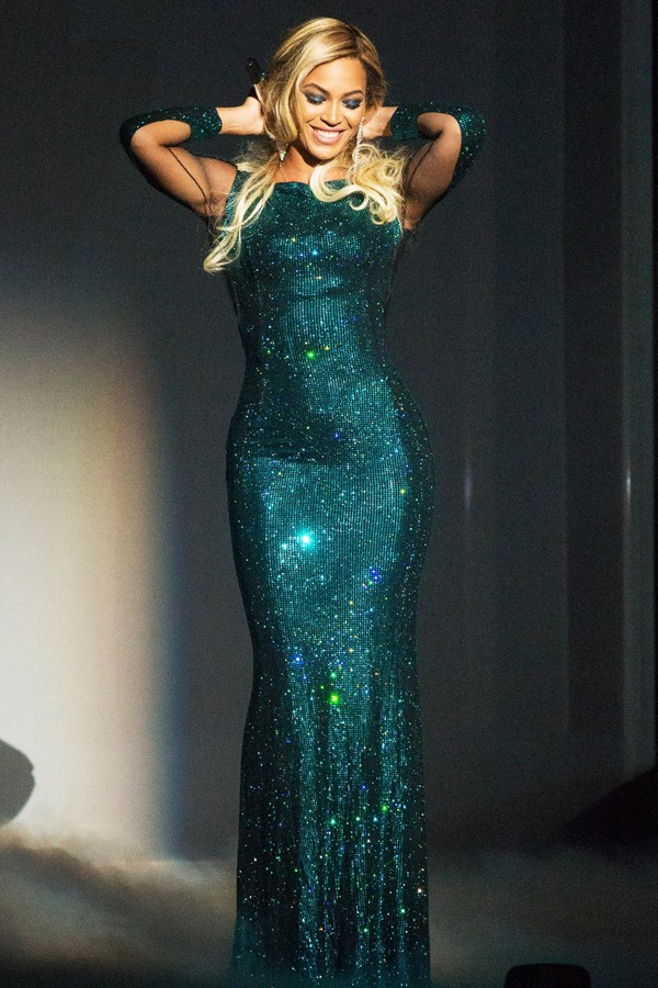 Aliexpress.com : Buy Beyonce Brit Awards Red Carpet Dress 2014 ...