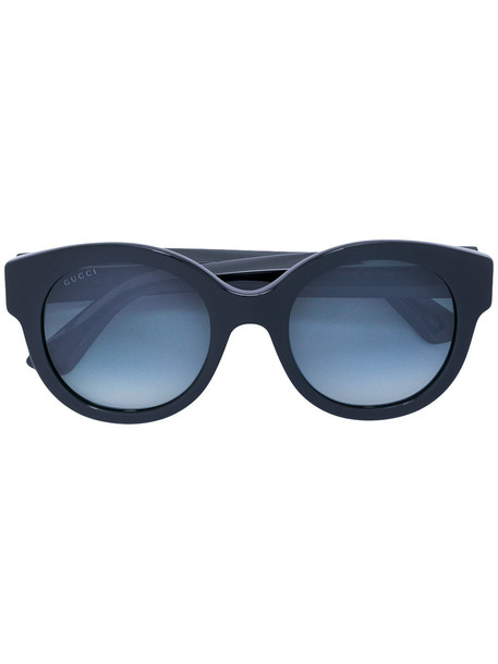 Gucci Eyewear women sunglasses round sunglasses black
