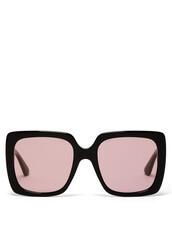 sunglasses,black,pink