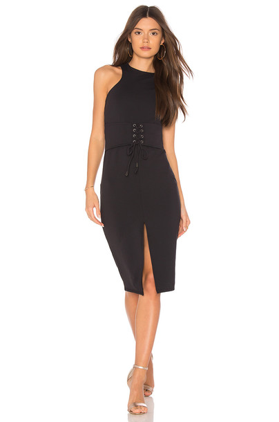 DONNA MIZANI dress black