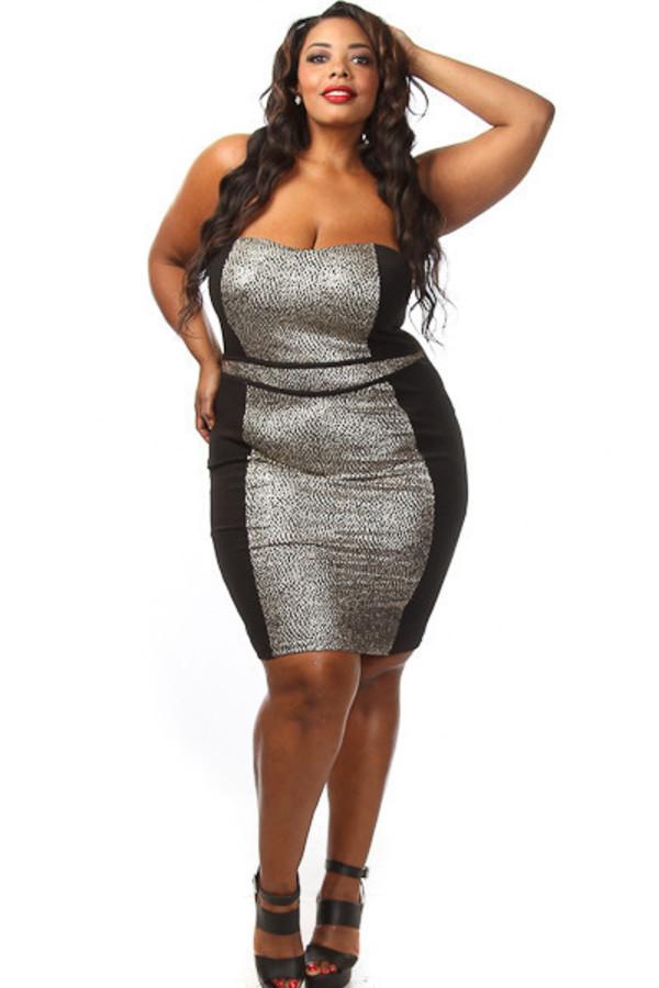 Plus Size Dresses Clubwear Perlabook