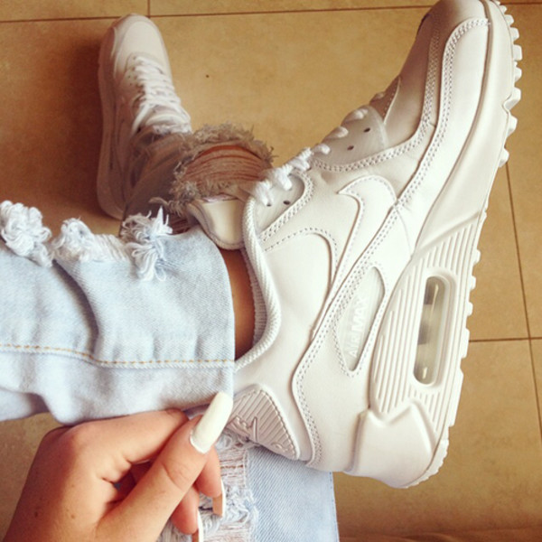 shoes women air max white nike