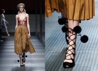 fashion agony blogger fashion week pleated skirt
