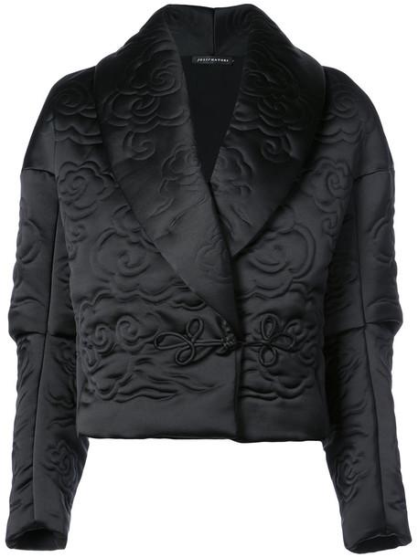 Natori jacket cropped jacket cropped women black