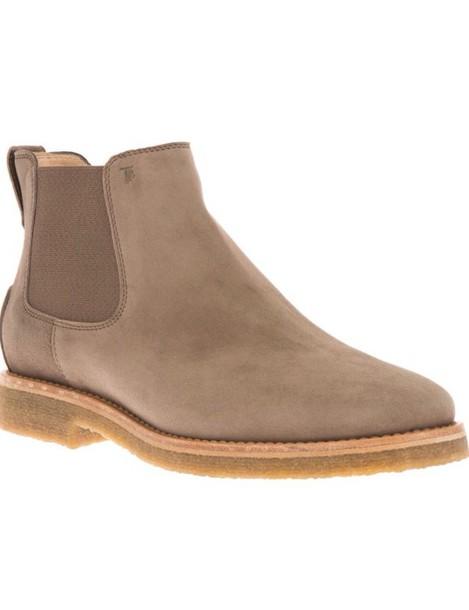 bc6b5d88dc56 shoes flat boots beige ankle boots suede chelsea boots