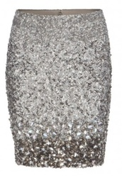 skirt,silver,sequins,silver sequins,tight skirt