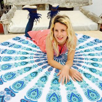 swimwear boho bohemian beach tapestry hippie psychedelic mandala home accessory home decor interior holiday home decor wall tapestry hippie wall hanging home furniture blue tapestries psychedelic tapestries boho tapestries tapestry hippe burgundy hippie table runner wholesale hippie tapestries round mandala tapestries manadala tapestry