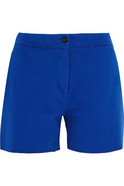 Acne Studios shorts cotton blue bright