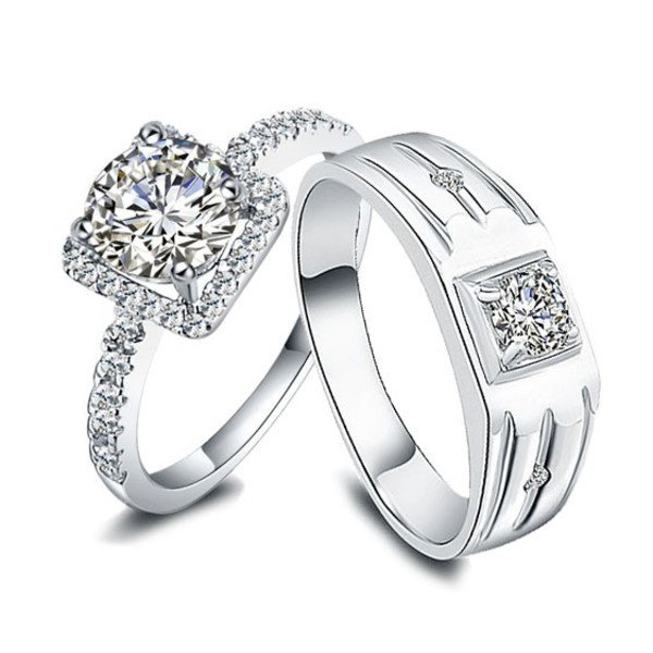 jewels engagement ring engagement ring his and hers rings personalized rings set anniversary rings personalized promise rings couples rings set men and women rings bridal rings bride and groom rings customized rings couples christmas gifts gilfriend boyfriend rings friendship rings set diamond wedding bands