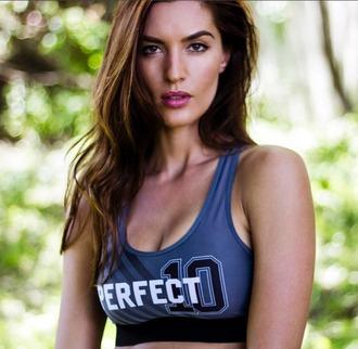 underwear sportswear sports bra activewear grey chrldr workout top