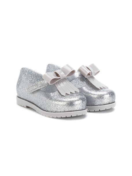 MINI MELISSA bow grey shoes