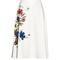 Maury floral-print midi skirt