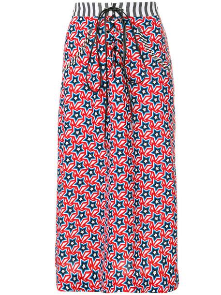 House of Holland skirt women cotton print