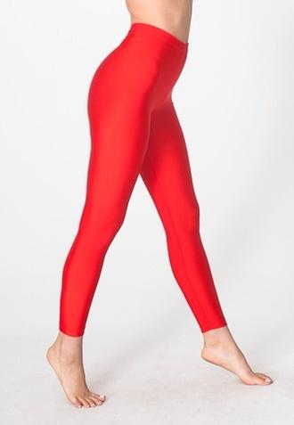 red pants pants