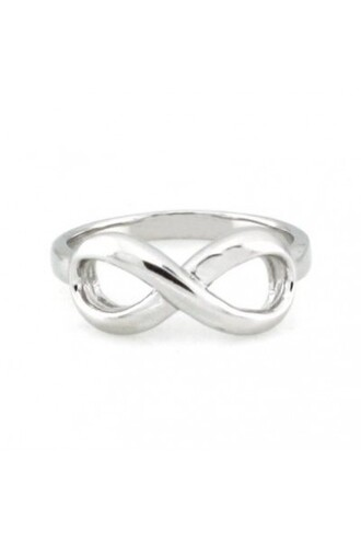 jewels fashion style accessories ring silver infinity infinity ring silver ring